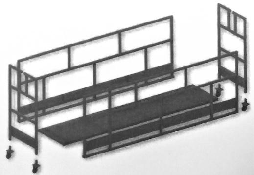 Montaje de la plataforma