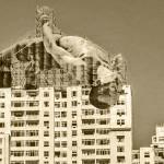 Escultura en Rio de Janeiro (por JR)