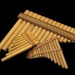 Instrumento de bambú